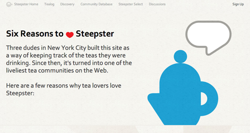 reasons to Steepster