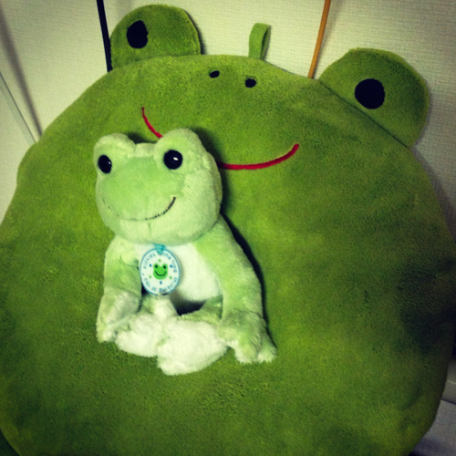 frog on frog@コムニケロEnglish