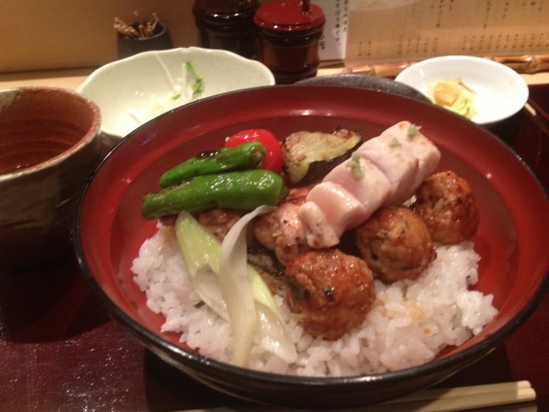 乃木坂 鳥幸「焼鳥丼」【六本木おすすめランチVol.006】