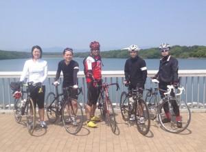 広告系自転車部サイクリング@多摩湖