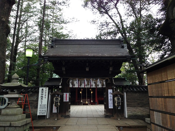 六本木の氏神様 - 赤坂氷川神社に初詣!