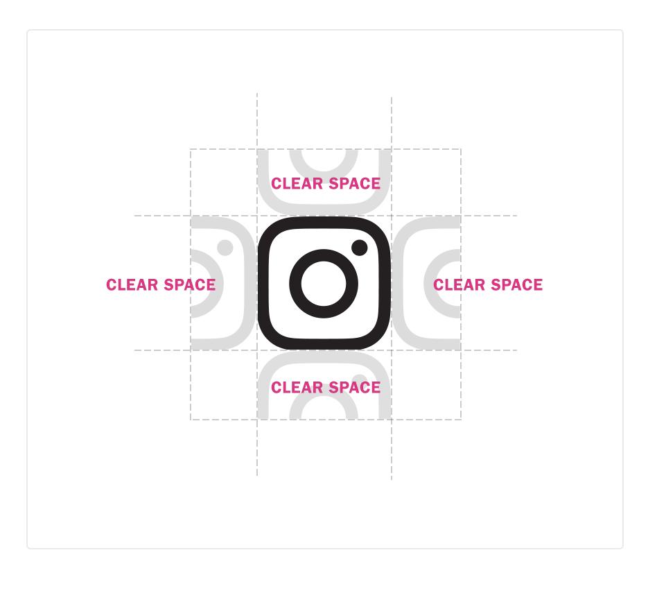 Instagramのロゴを使用する際の注意点