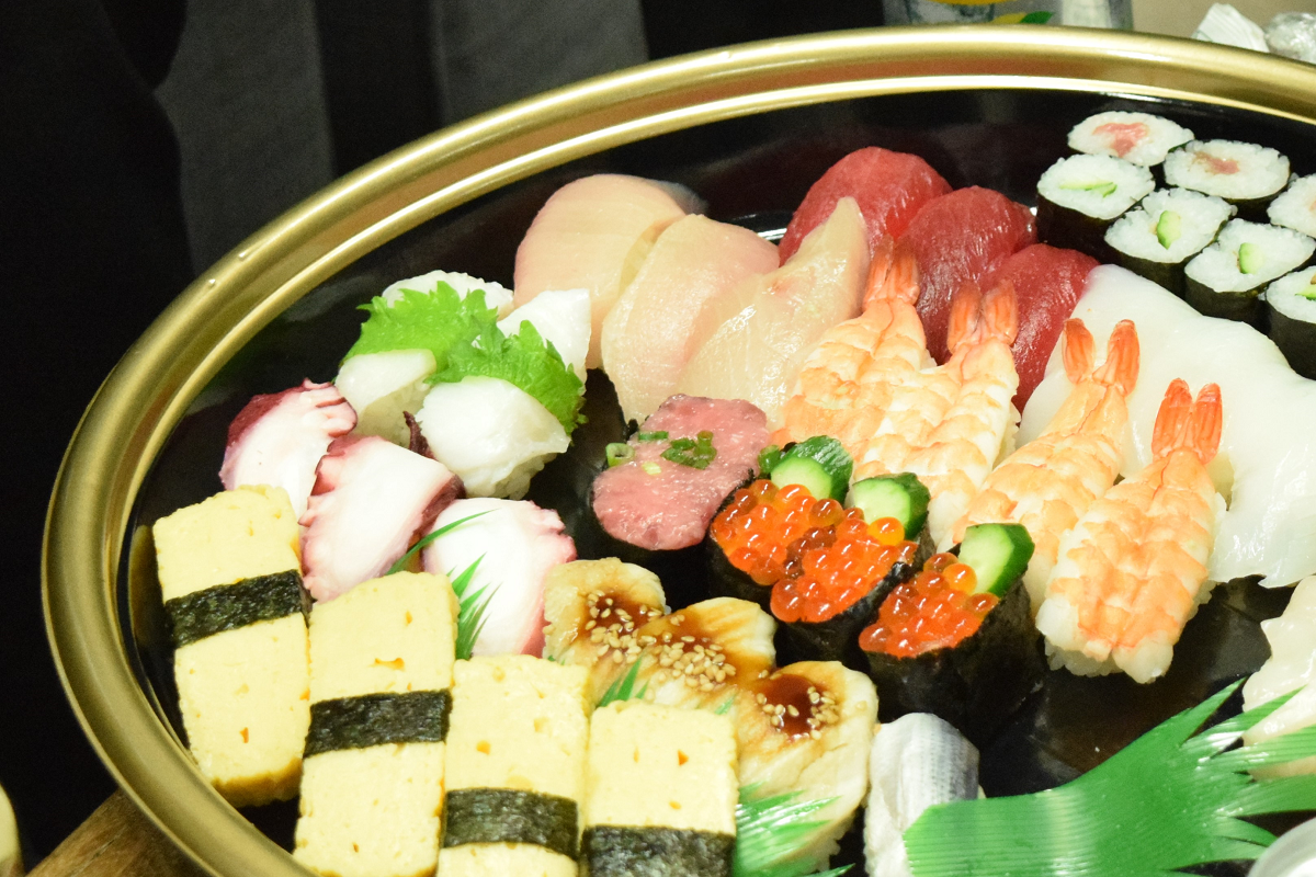 つきじ海濱のお寿司
