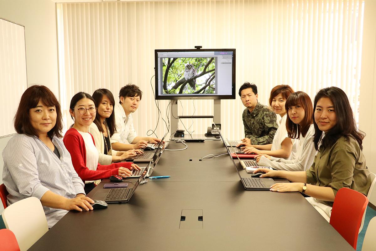参加者には、グループ会社24-7のメンバーも。