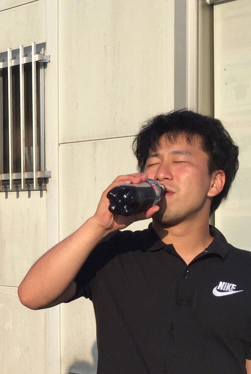 タム:がぶ飲み